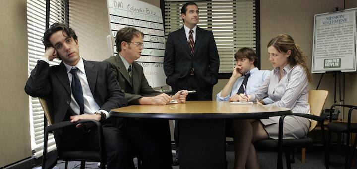 the office meeting