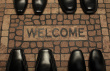 stock-photo-14470957-welcome-home-rug